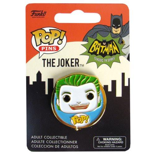 Batman Classic 1966 TV Series Joker Pop! Pin