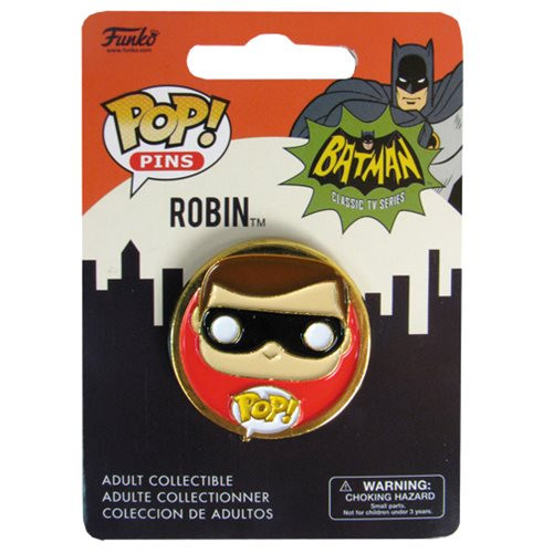 Batman Classic 1966 TV Series Robin Pop! Pin
