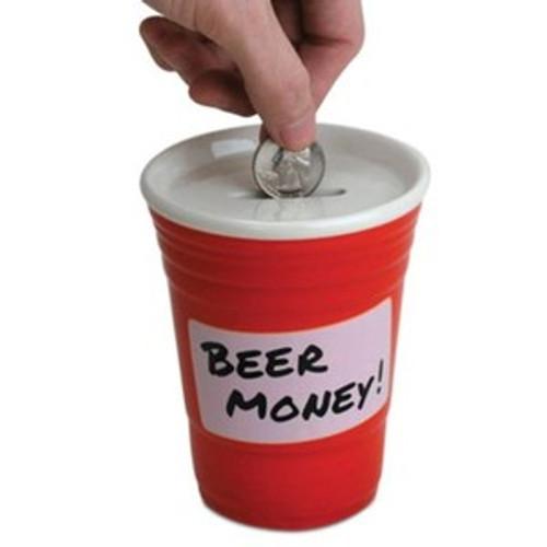 Red Cup Beer Money Bank