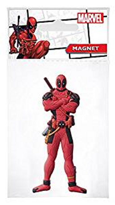 Marvel Deadpool Soft Touch PVC Magnet