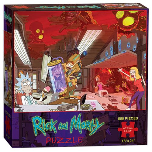 Rick and Morty Zip-Around Wallet - The Novelty Shoppe