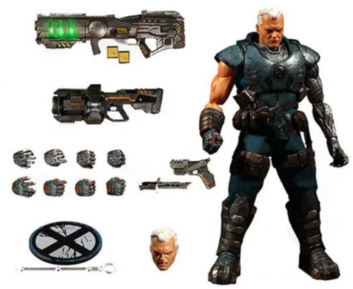 X-Men Cable One:12 Collective Action Figure Free USA Shipping