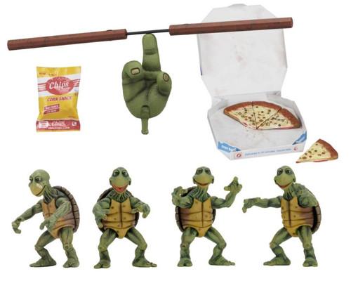 Teenage Mutant Ninja Turtles Movie Baby Turtles 1:4 Scale Action Figure 4-Pack