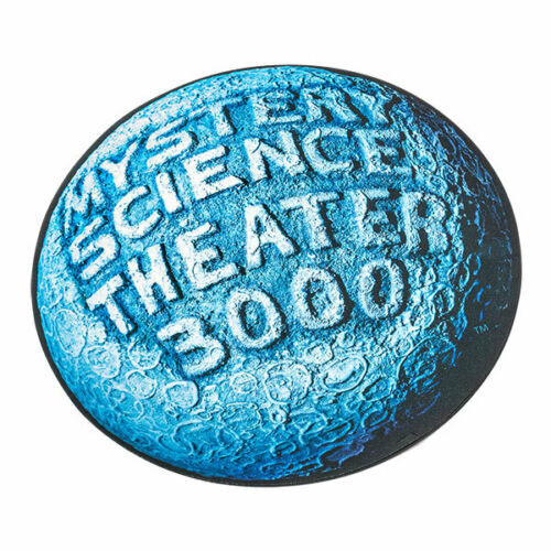 mystery science theater 3000 logo mat