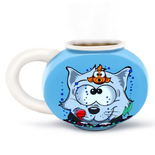 Something's Fishy Fishbowl Mug