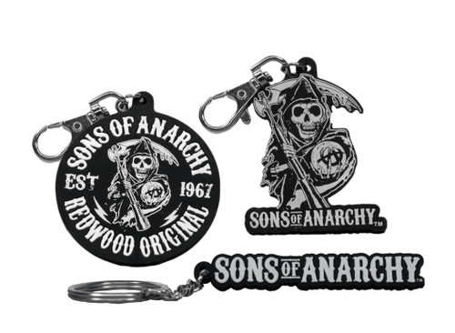 Sons Of Anarchy PVC Clip-ons Set