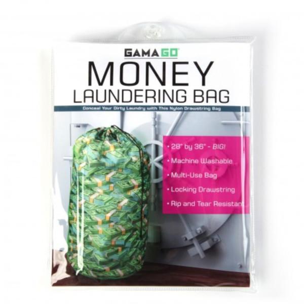 Money Laundering Laundry Bag