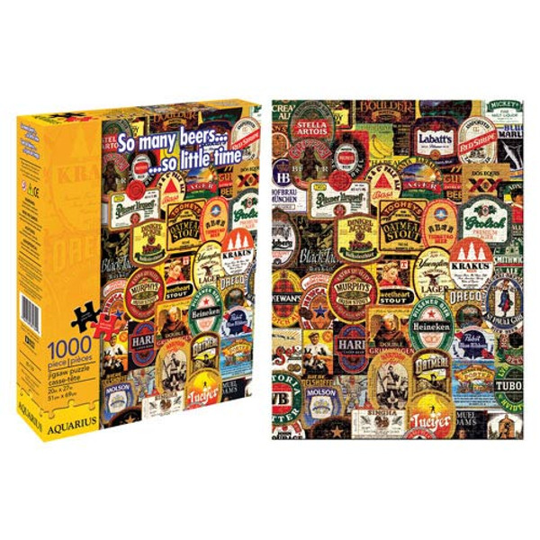 So Many Beers 1,000-Piece Puzzle