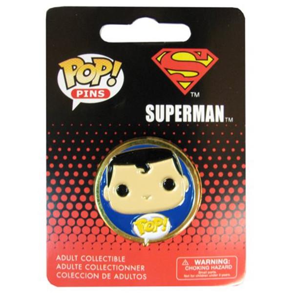 Superman Pop! Pin