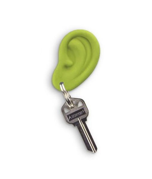 Green Ear Ring Keychain