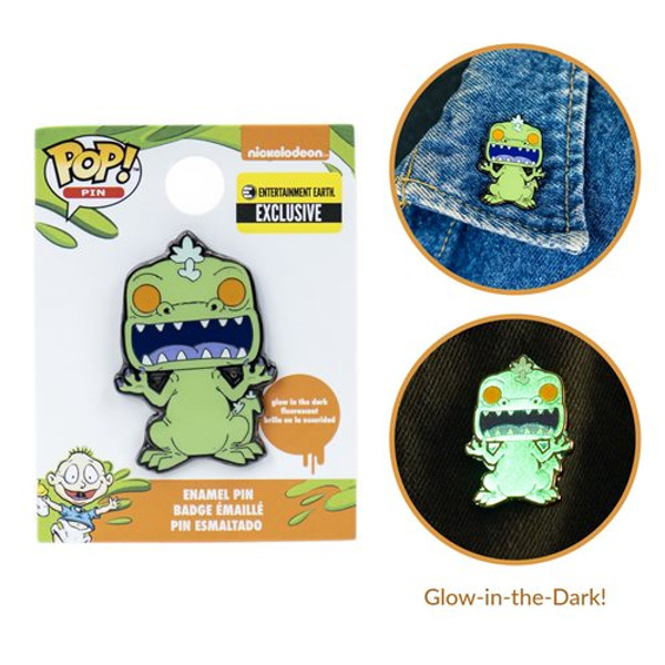 Rugrats Reptar Glow-in-the-Dark Pop Pin
