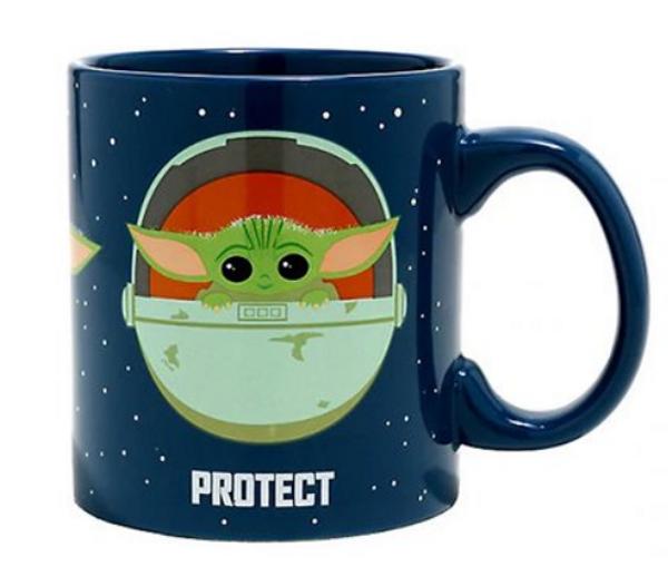 Star Wars: The Mandalorian Protect Attack Snack The Child 20 oz. Mug