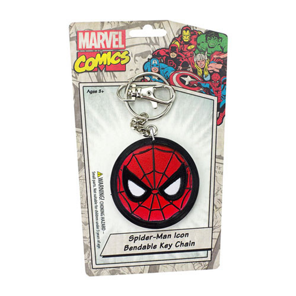 Spider-Man Eyes Bendable Key Chain