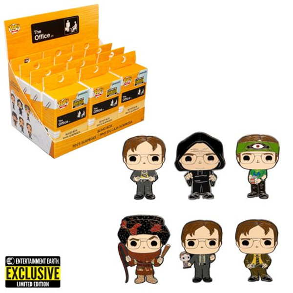 The Office Dwight Schrute Disguises Blind-Box Pop Pin Exclusive