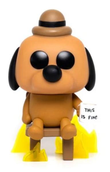 This is Fine Dog Pop! Vinyl Figure - Entertainment Earth Exclusive