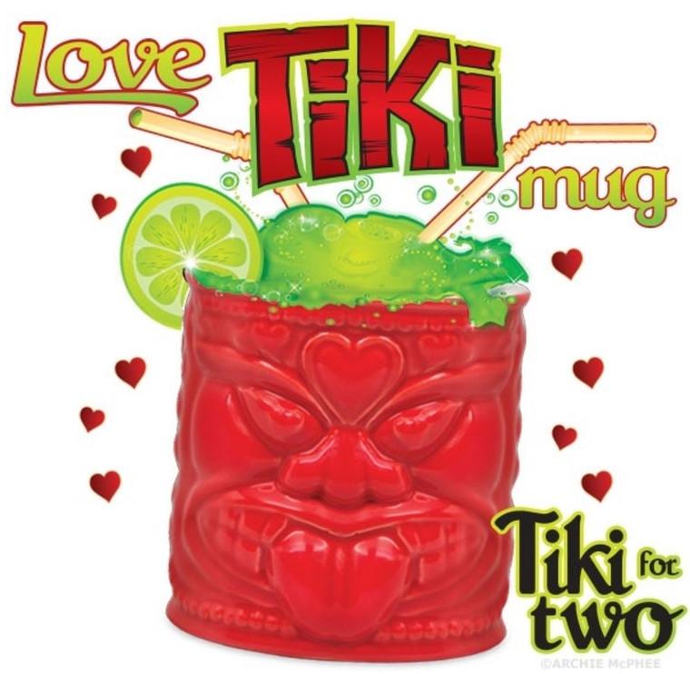 Love Tiki Mug