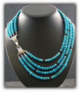 Silver Turquoise Fashion Beads