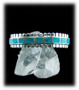 Silver Turquoise Jewelry Bracelet
