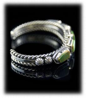 Silver Turquoise Bracelet