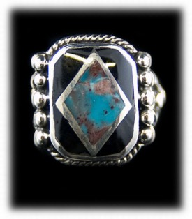 Mens Turquoise Ring