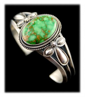 Victorian Style Carico Lake Turquoise Ring