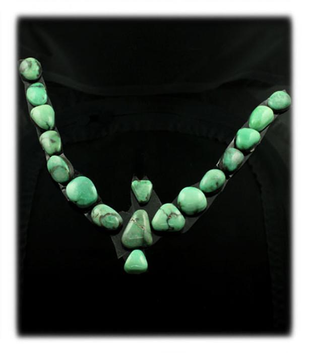 Damele Variscite Cabochons for a Necklace
