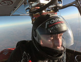 FORMEX AMBASSADOR MARC HAUSER IS THE FIRST MAN TO FLY IN THE JET STREAM