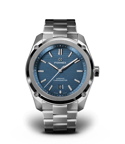 Automatic Chronometer Blue 39 mm test