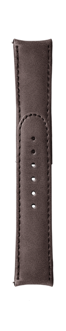 """ESSENCE ThirtyNine """"Deployant"""" Brown Leather Strap (without clasp)"""