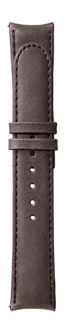 """ESSENCE """"Butterfly"""" Brown Leather Strap (without clasp)"""
