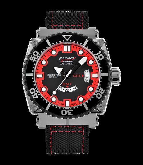 Quartz GMT Red