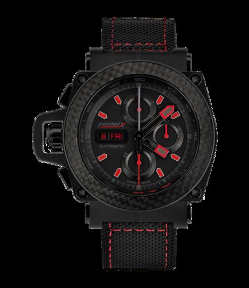 Automatic Chronograph Carbon Bezel Black Limited Edition