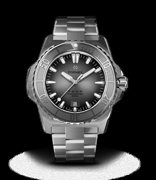 Automatic Chronometer COSC 300M Silver