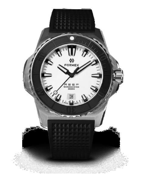 Automatic Chronometer COSC 300M White
