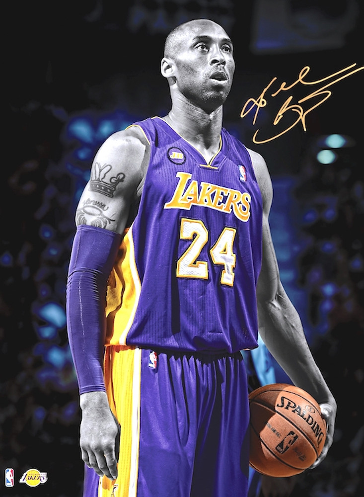 the latest 95531 881db Kobe Bryant Poster Lakers