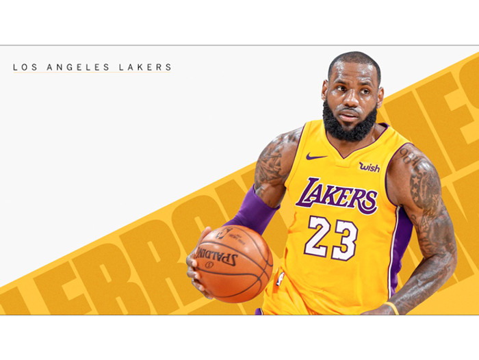 badfe3c1a LeBron James Lakers Poster 23 Photo Wall Art Print (24x18)