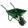 The Builder Green Wheelbarrow - 90 Ltr / 140Kg