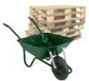 Pallet of Easiload Green Wheelbarrows - 85 Ltr / 150Kg