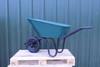Super Mucker Green Plastic Wheelbarrow - 120 Ltr / 150kg