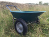 Plastic Two Wheel Wheelbarrow - 120kg/75L