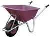 Big Mucker 100 Ltr / 120 Kg Wheelbarrow - Purple