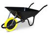 Ex Display - The Contractor Professional - Black Wheelbarrow
