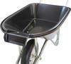 Pouring Tipping Black Wheelbarrow - 75 Ltr / 150Kg / 4.5CBF
