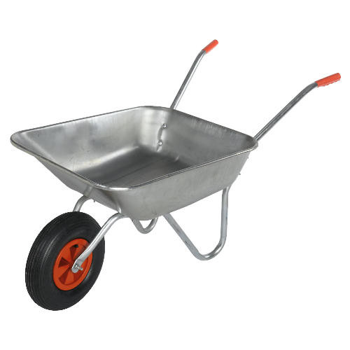 Bristol DIY Garden Wheelbarrow Light Work Metal - 50 Ltr / 80Kg