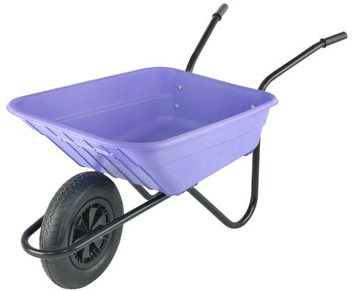 Bristol Shire Lilac Mucker Wheelbarrow - 90 Ltr / 120Kg