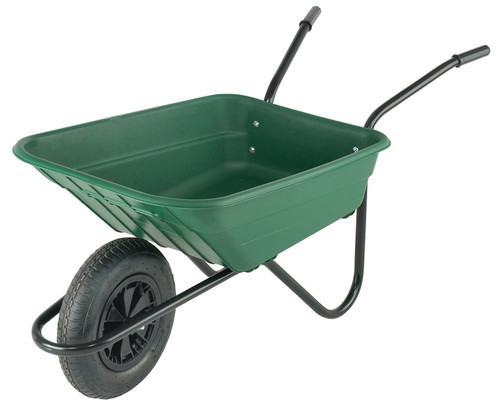 Bristol Shire Green Mucker Wheelbarrow - 90 Ltr / 120Kg