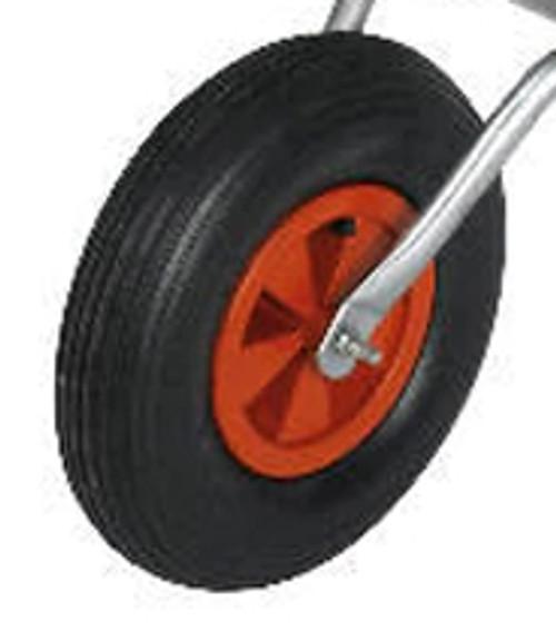 Red Plastic Hub Wheel