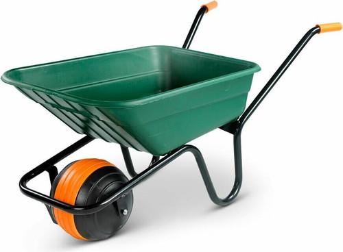 Walsall Duraball Green Wheelbarrow - 90 Ltr / 150kg