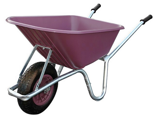 Big Mucker Purple Wheelbarrow - 100 Ltr / 120kg