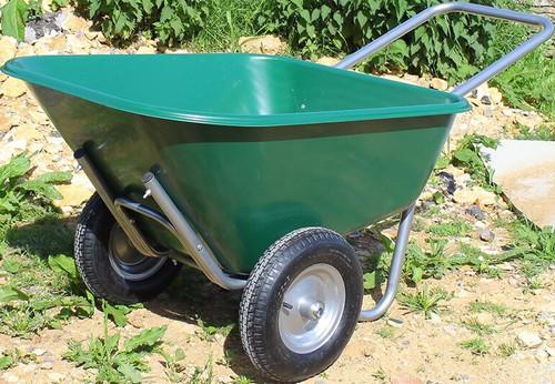 Bristol Tool Company Large Green Wheelbarrow - 175 Ltr / 175kg